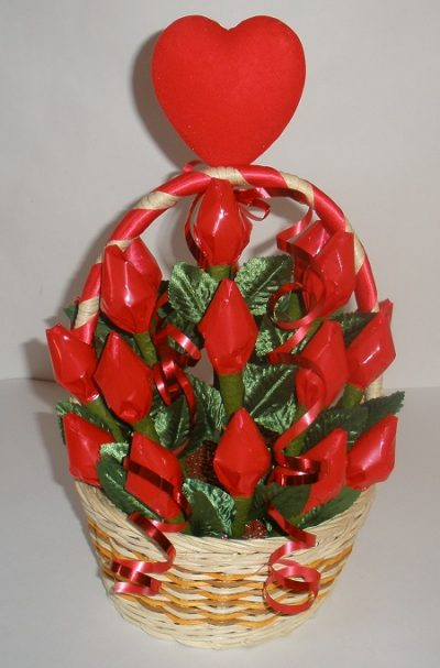 Hershey Kiss Roses Bouquet Fun Family Crafts