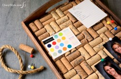 Wine Cork Corkboard