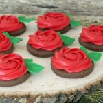 Buttercream Rose Cookies