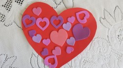 Love Heart Stickers Toddler Activity