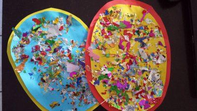 Easy Toddler Easter Egg Craft