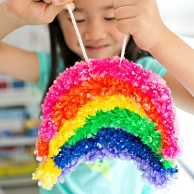 Giant Crystal Rainbow