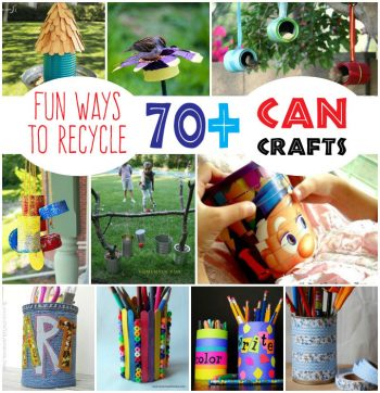 70+ Recycled Can Crafts - Fun Family Crafts