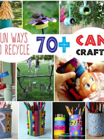 70+ Recycled Can Crafts