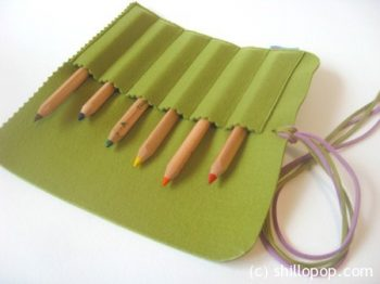 Felt Pencil Roll