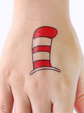 Dr. Seuss Temporary Tattoos