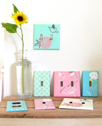 Decoupaged Switchplates