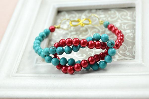 Sailor Knot Beaded Bracelet