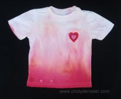 Heart Ombre Tie-Dye Shirt