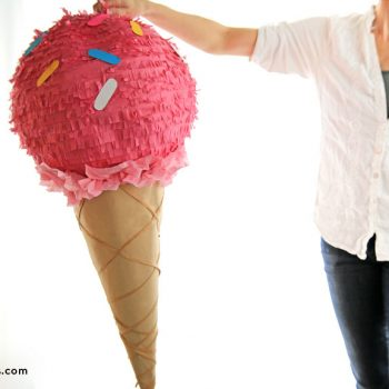 Ice Cream Cone Pinata