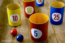 Printable Indoor Toss Game