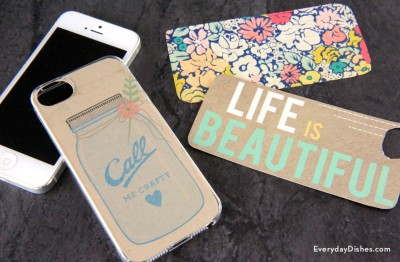 Printable iPhone Case Template