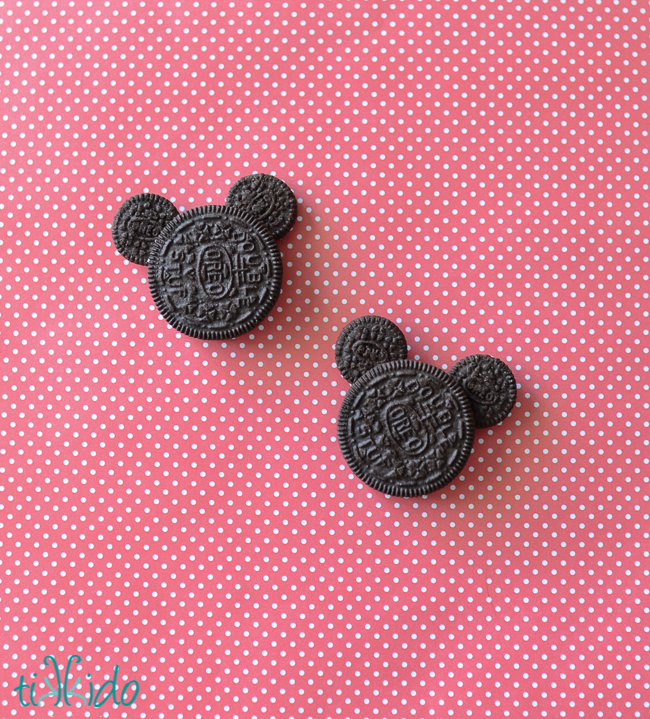 Oreo Mickey Mouse Cookies