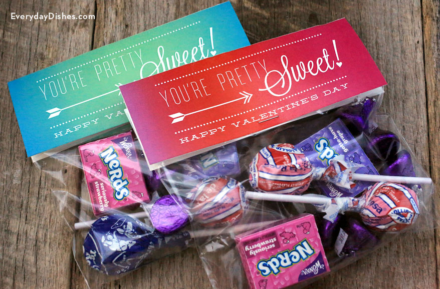 Printable Valentine Treat Bags