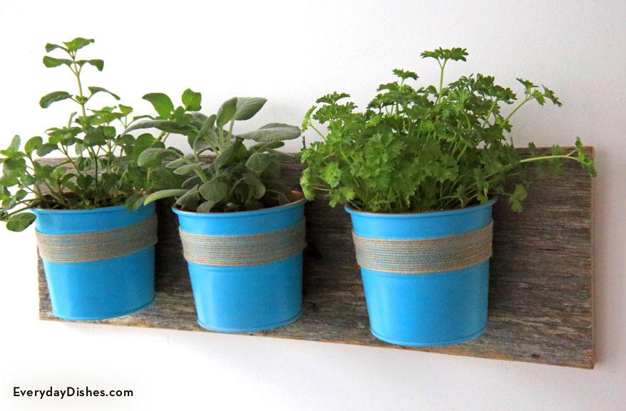 Hanging Herb Garden