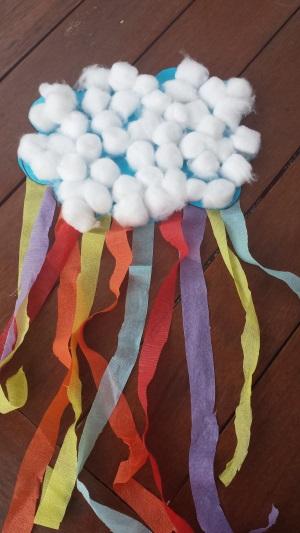 Rain Cloud Rainbow