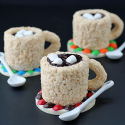 Rice Krispie Treat Cups