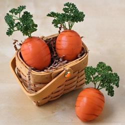 Hard Boiled Egg Carrots