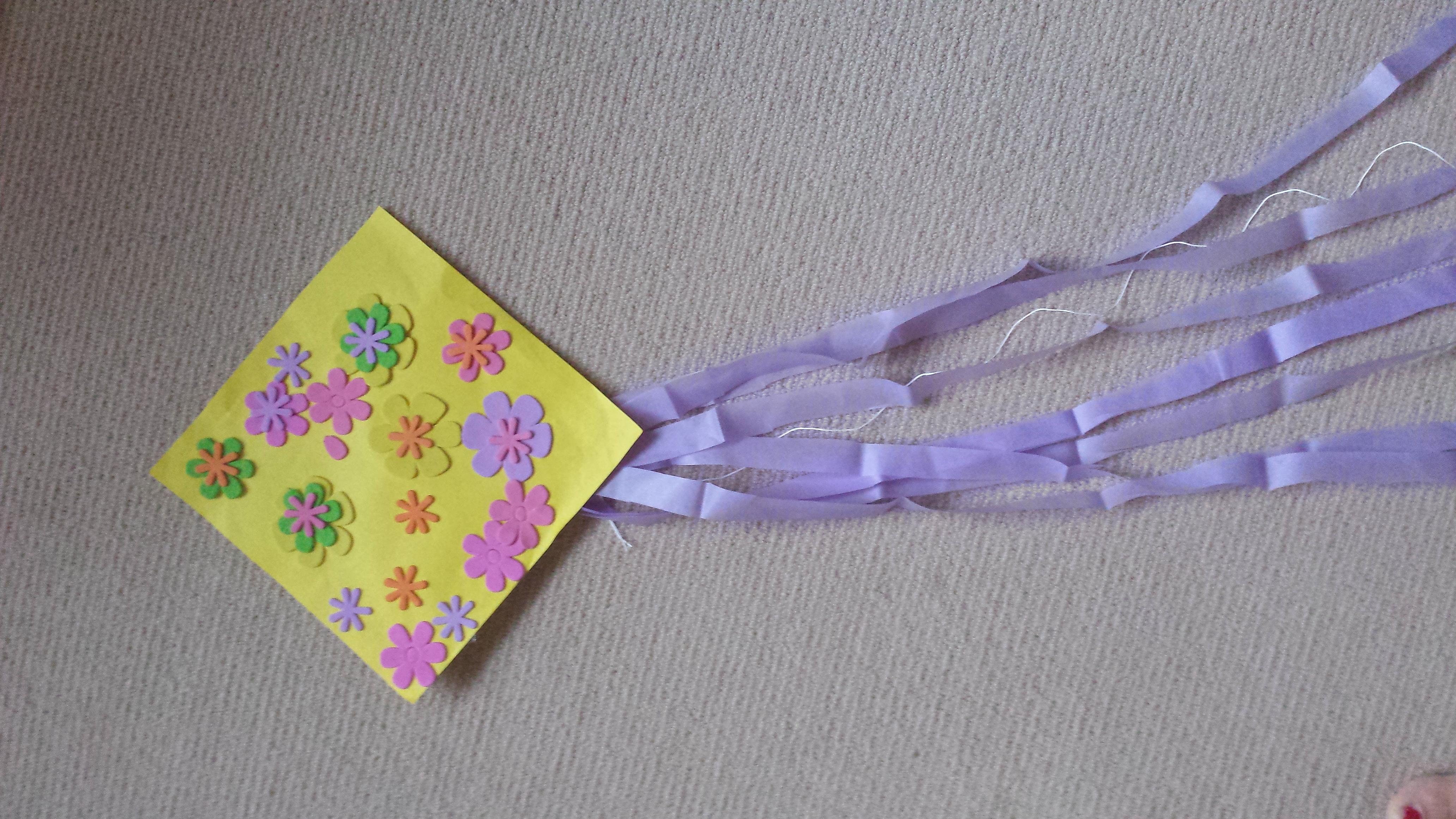 Toddler kite craft fun family crafts for Kite craft for kids