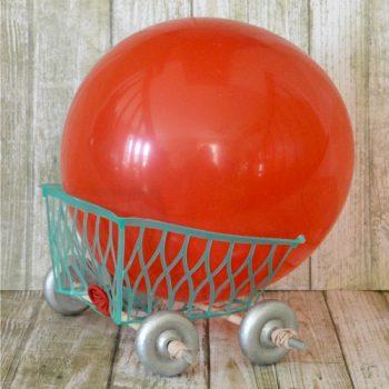 Berry Basket Balloon Car