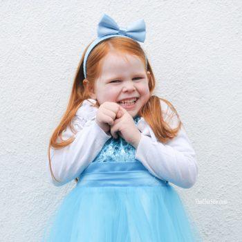 Cinderella Party Bow