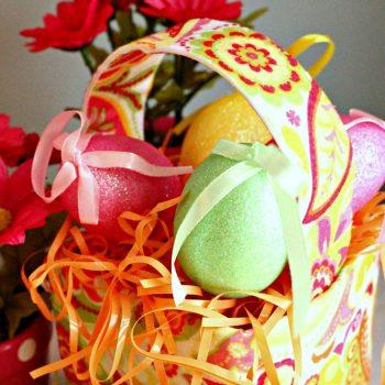 Pulitzer-Inspired Easter Basket