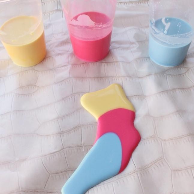 Easy Homemade Finger Paints