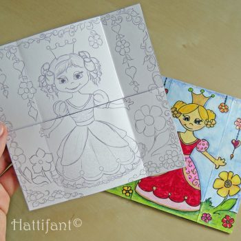 Never-ending Princess Card