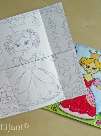 Never-ending Princess Card