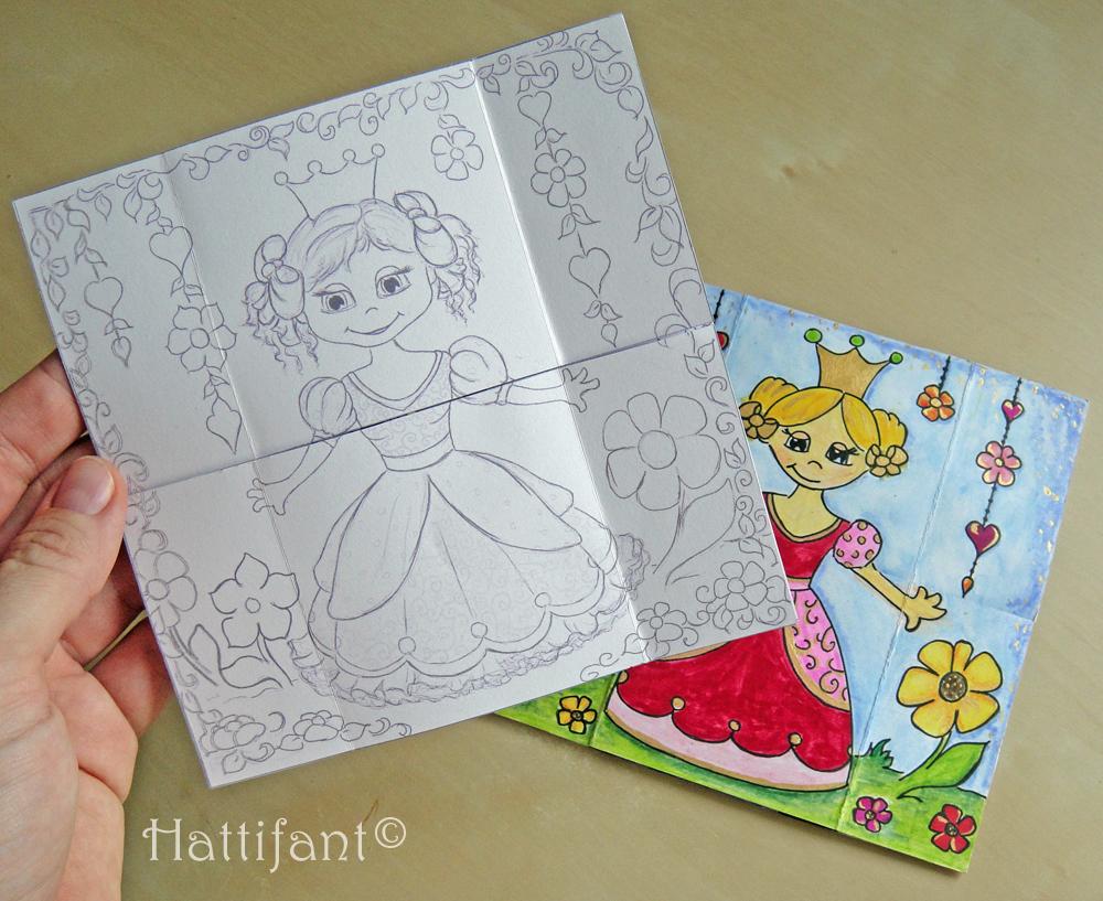 Neverending Princess Card