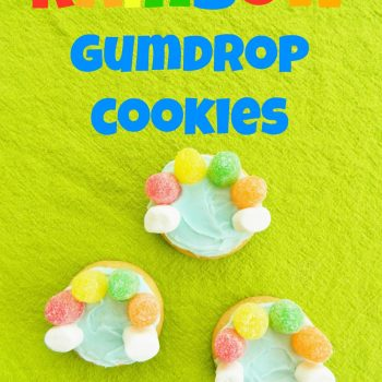Rainbow Gumdrop Cookies