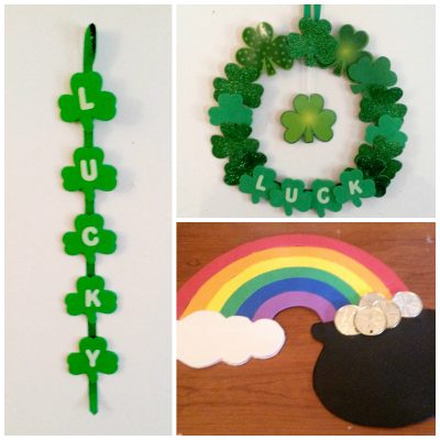 St patrick 39 s day decorations fun family crafts for St patricks day decorations for the home