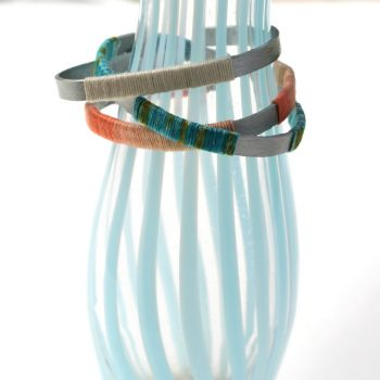 Bent Craft Stick Bracelets