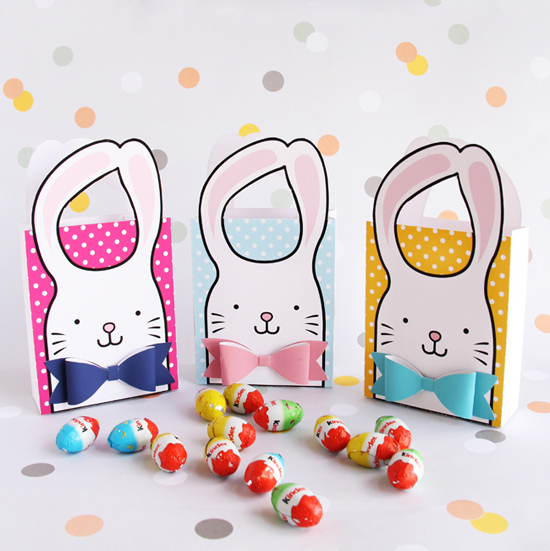 Printable Bunny Favor Bags
