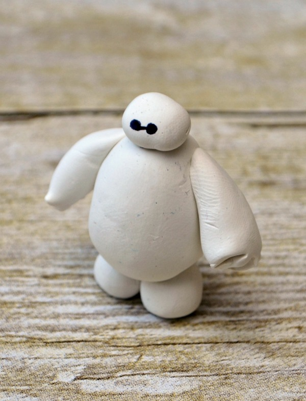 Baymax Clay Figurine