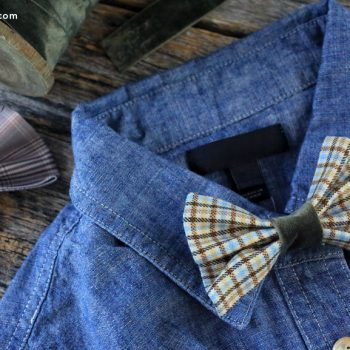 Clip-on Bow Tie