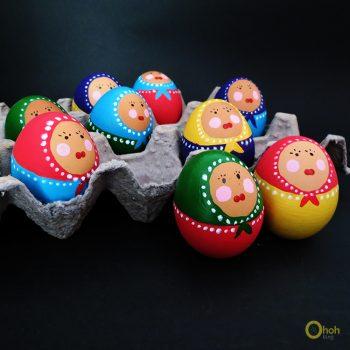 Babouchka Easter Eggs