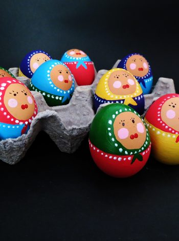 Babouchka Easter Eggs
