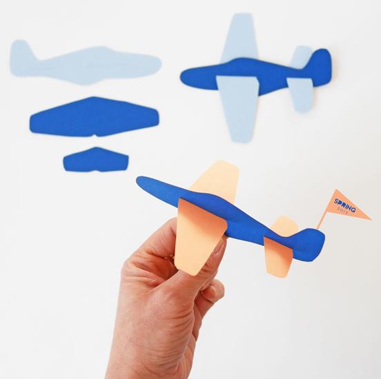 Paper Plane Toy