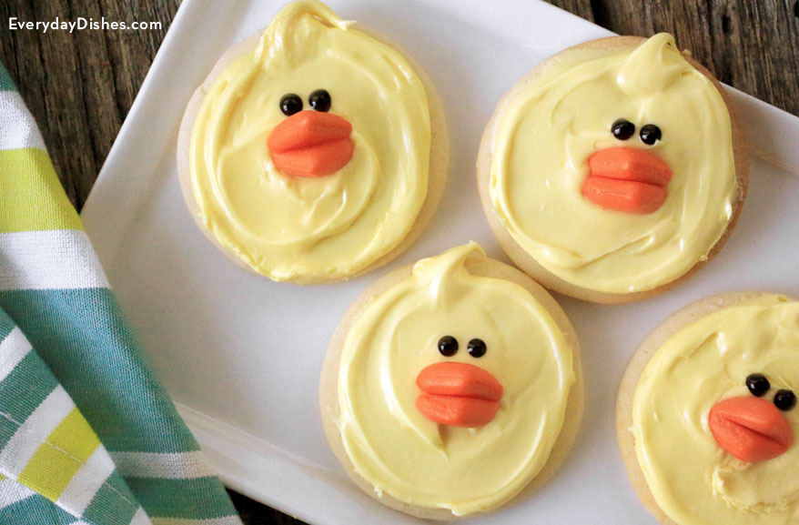 easter chick cookies fun family crafts
