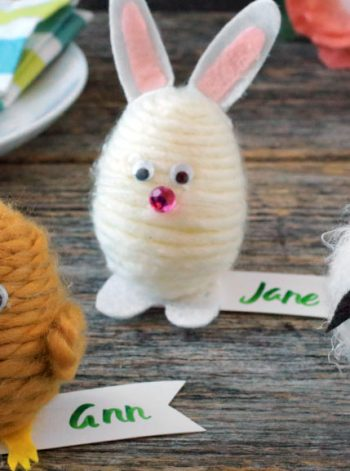 Easter Egg Place Card Critters
