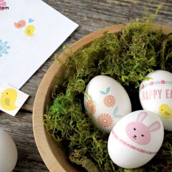 Printable Easter Egg Tattoos