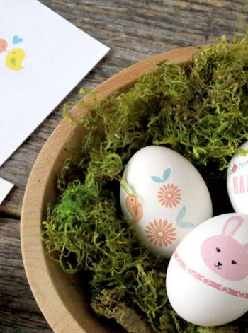 Printable Easter Egg Tattoos