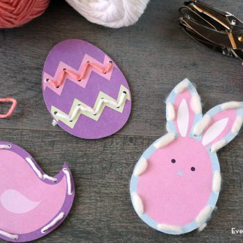 Printable Easter Lacing Cards