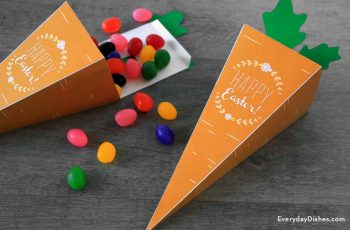 Printable Carrot Treat Box
