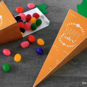 Printable Carrot Treat Box