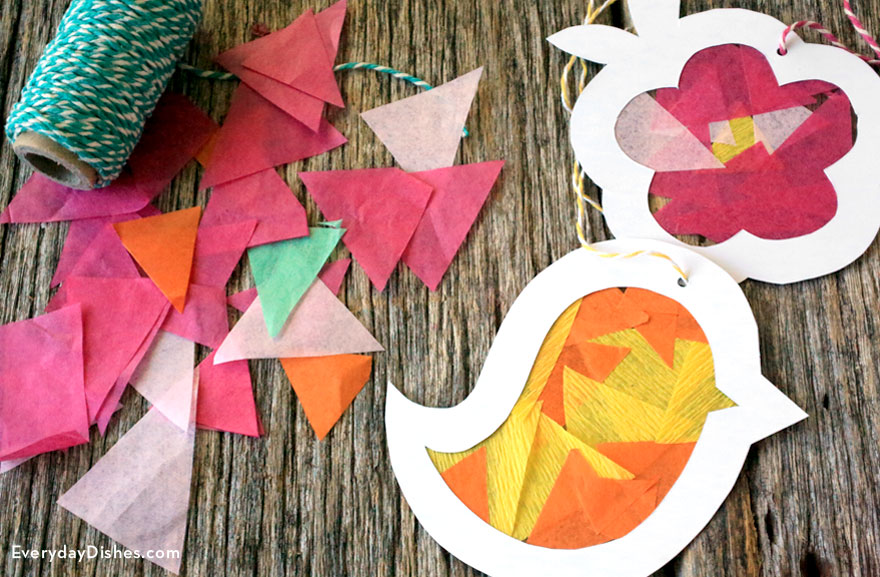 Earth Sun Catcher Craft