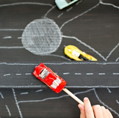 Magnetic Car Racetrack
