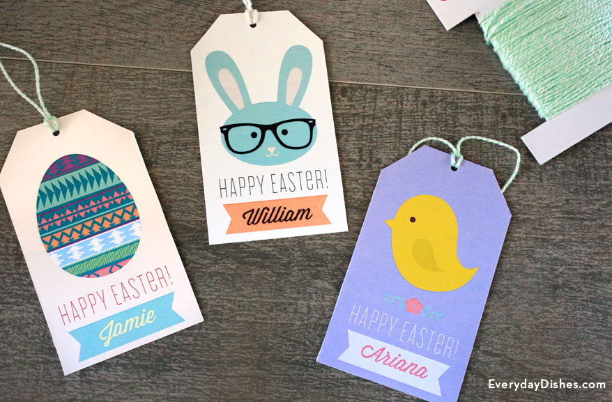Holidays easter archives fun family crafts printable easter gift tags negle Images