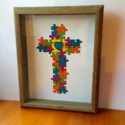 Get The Instructions For Puzzle Piece Cross